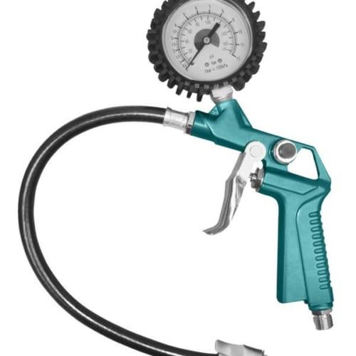 Súng bơm lốp xe dùng khí có đồng hồ đo áp Total TAT11601