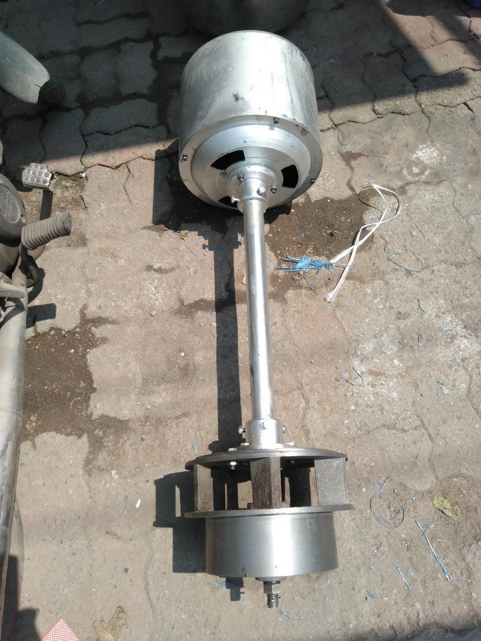 Củ phát điện nước (củ đứng) 0,5kw