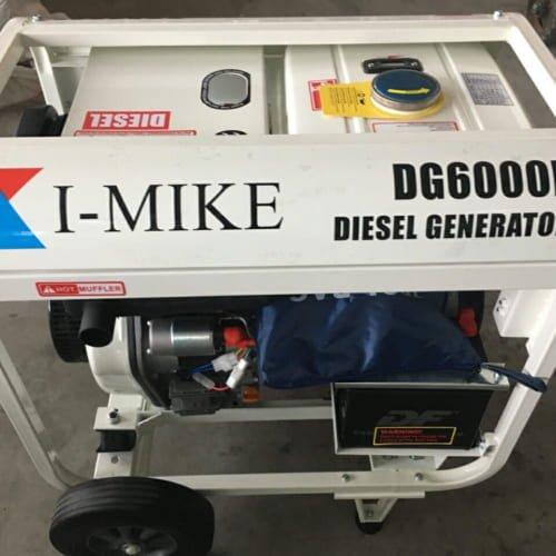 Máy phát điện chạy dầu Diesel I-MIKE DG 6000E
