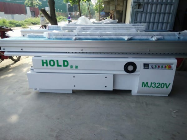 Máy cưa bàn trượt Holz Hez MJ320V