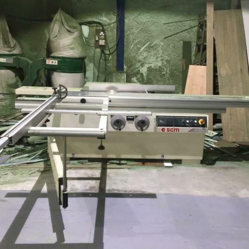 Máy cưa bàn trượt SCM Si400K (Cũ)