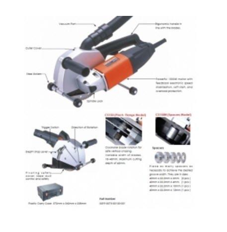 Máy cắt rãnh tường AGP CS150N