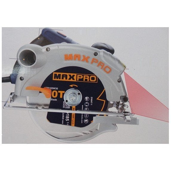 Máy cưa đĩa lazer 1300W Maxpro MPCS1300/185L