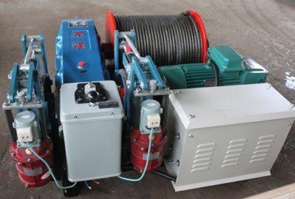 Tời kéo mặt đất nhiều tốc độ FENGXI JK5 (tải trọng 5 tấn tốc độ 30 m/ph )