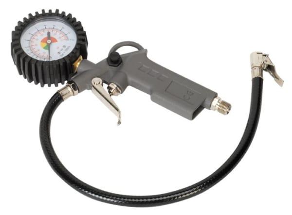 Tay bơm lốp kèm đồng hồ đo áp suất- SA332- Sealey